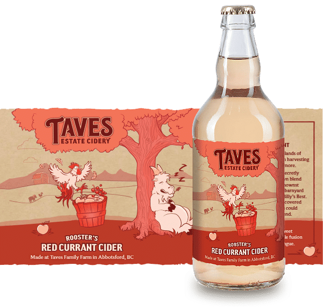 Barnyard Series - Rooster's Red Currant Cider