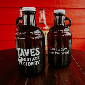 filled growler
