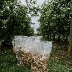 applewood chips in bags